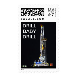 PULLING PIPE POSTAGE STAMP