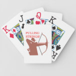 Pulling Strings Bicycle Poker Cards