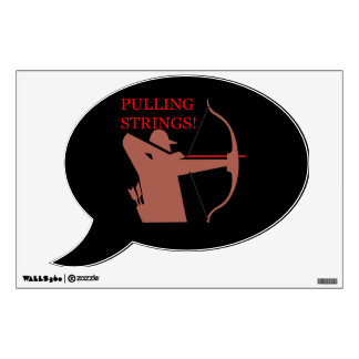 Pulling Strings Wall Decal