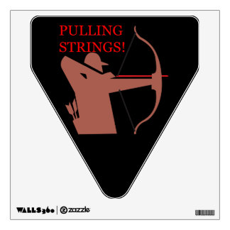 Pulling Strings Wall Sticker