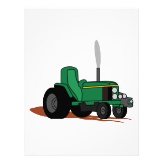 Pulling Tractor Letterhead