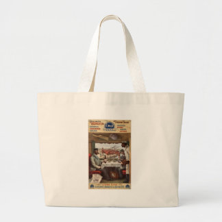 Pullman compartment cars & through trains tote bags