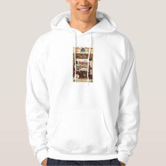 Pullman dining car on train 1894 sweatshirt