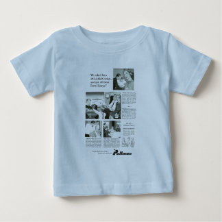Pullman Sleeping Car was for overnight Trains Baby T-Shirt