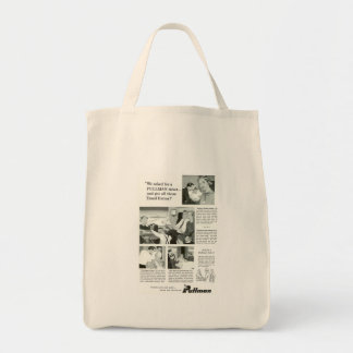 Pullman Sleeping Car was for overnight Trains Canvas Bag