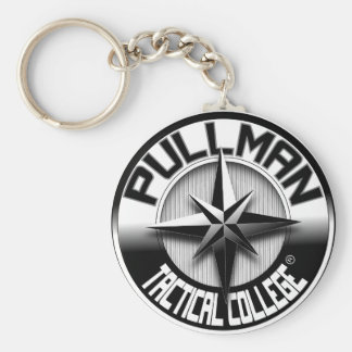 Pullman Tactical College_logo Keychain