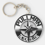 Pullman Tactical College_logo Keychains