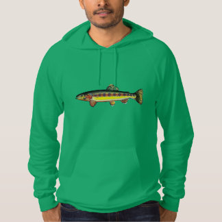 Pullover with hood Trout Golden delicious