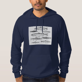 Pullover with hood Trouts