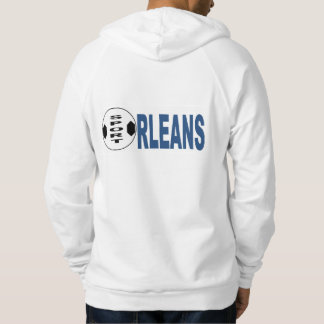 Pullover with ORLEANS hood