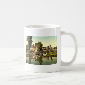 Pulls Ferry, Norwich, England rare Photochrom Coffee Mug