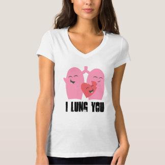 ¡Pulmón respiratorio de la terapia I usted! camisa