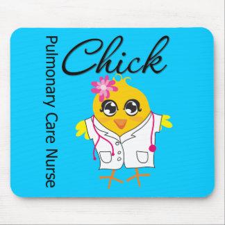 Pulmonary Care Nurse Chick v2 Mouse Pad