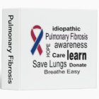 Pulmonary Fibrosis Awareness Binder