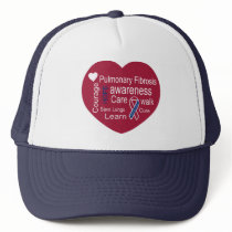 Pulmonary Fibrosis Awareness Cap