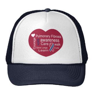 Pulmonary Fibrosis Awareness Cap Hats