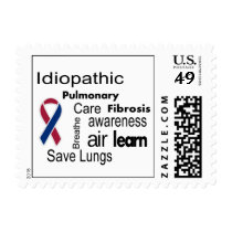 Pulmonary Fibrosis Awareness Postage Stamp