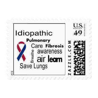 Pulmonary Fibrosis Awareness Postage Stamp