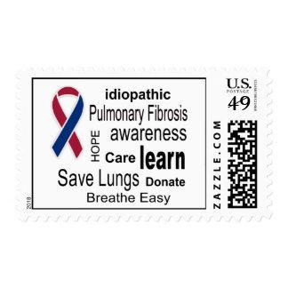 Pulmonary Fibrosis Awareness Postage Stamps