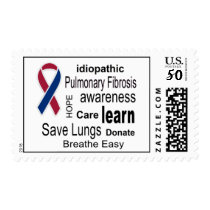 Pulmonary Fibrosis Awareness Postage Stamps