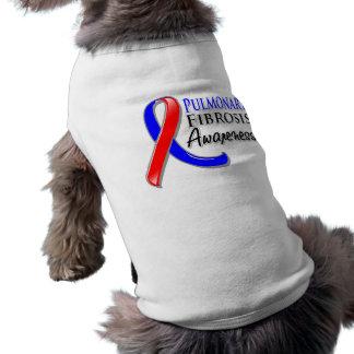 Pulmonary Fibrosis Awareness Ribbon Doggie Tee