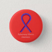Pulmonary Fibrosis Awareness Ribbon Pin Buttons