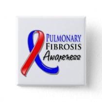 Pulmonary Fibrosis Awareness Ribbon Pinback Button