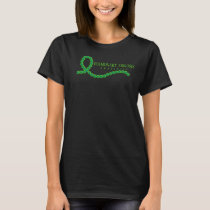Pulmonary Fibrosis Awareness Ribbon T-Shirt