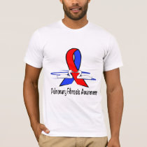 Pulmonary Fibrosis Awareness Swans of Hope T-Shirt