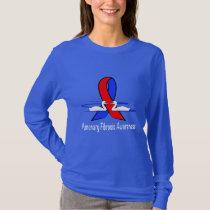 Pulmonary Fibrosis Awareness Swans of Hope T-Shirt