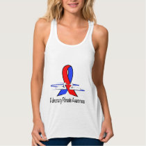 Pulmonary Fibrosis Awareness Swans of Hope Tank Top