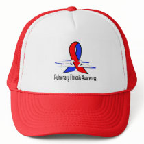 Pulmonary Fibrosis Awareness Swans of Hope Trucker Hat