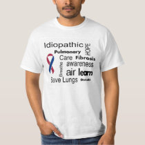 Pulmonary Fibrosis Awareness T-Shirt