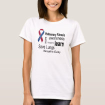 Pulmonary Fibrosis Awareness T T-Shirt