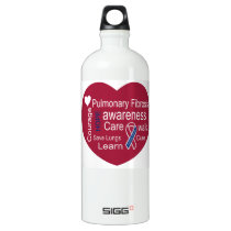 Pulmonary Fibrosis Awareness Water Bottle
