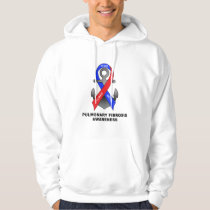 Pulmonary Fibrosis Awareness with Anchor of Hope Hoodie