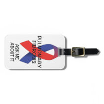 Pulmonary Fibrosis Bag Tag