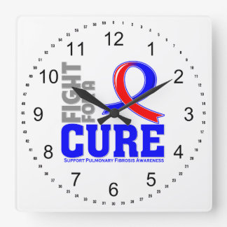 Pulmonary Fibrosis Fight For A Cure png Wallclocks