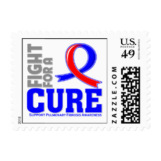 Pulmonary Fibrosis Fight For A Cure.png Postage Stamps