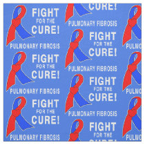 Pulmonary Fibrosis Fight for the Cure Fabric