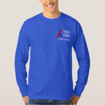 Pulmonary Fibrosis Fight for the Cure T-Shirt
