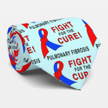 Pulmonary Fibrosis Fight for the Cure Tie