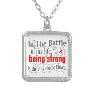Pulmonary Fibrosis In the Battle Custom Necklace