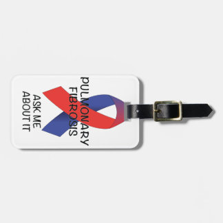 Pulmonary Fibrosis Tag For Luggage