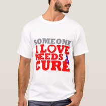 Pulmonary Fibrosis Someone I Love Needs A Cure T-Shirt