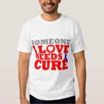 Pulmonary Fibrosis Someone I Love Needs A Cure T-shirts