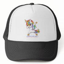 Pulmonary Fibrosis Warrior Unbreakable Trucker Hat