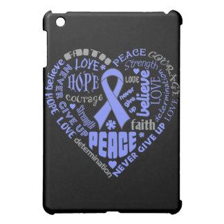 Pulmonary Hypertension Awareness Heart Words Case For The iPad Mini