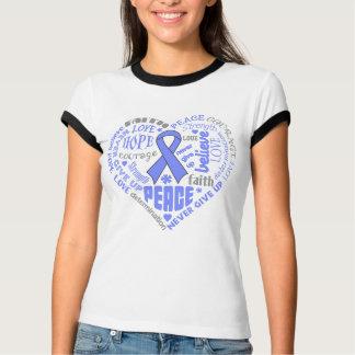 Pulmonary Hypertension Awareness Heart Words Shirt