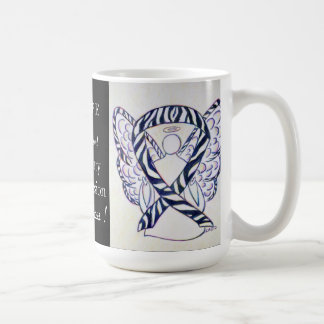 Pulmonary Hypertension Awareness Ribbon Angel Mug